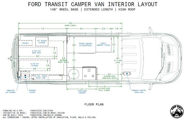Ford Transit Interior Dimensions 2007