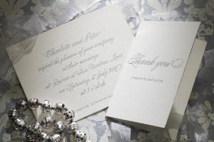 Luxury Wedding Invitations Calligraphy 300 x 200