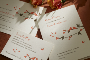 Luxury Wedding Invitations Carolinian 300 x 200
