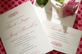 Luxury Wedding Invitations Electra 300 x 200