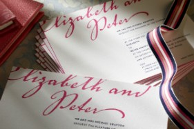 Luxury Wedding Invitations Letterpress Rohan 300 x 200