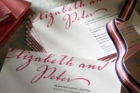 Luxury Wedding Invitations Letterpress Rohan 300 x 200