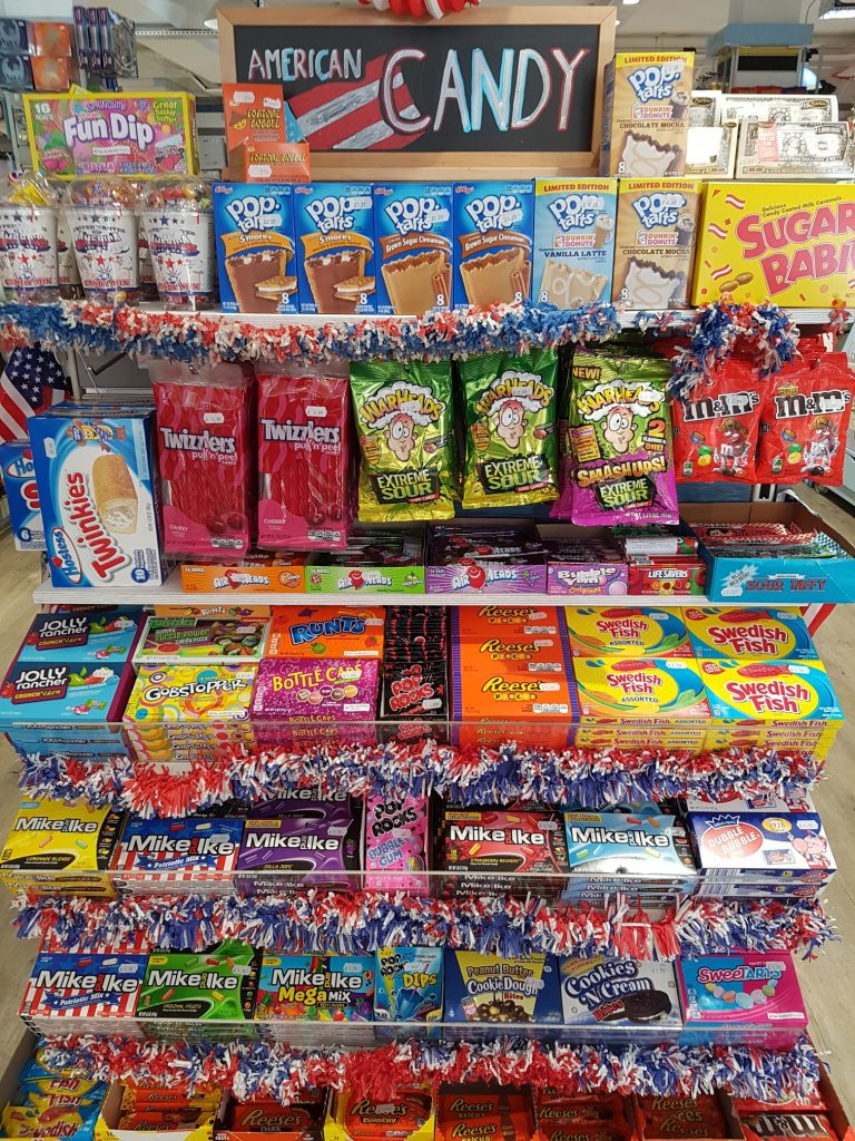 United Sweets Of America Farrants In Cobham Since 1896