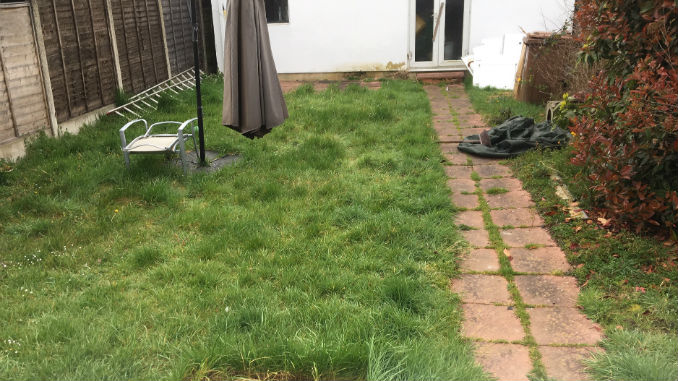 Before Astro turf and resin pathway