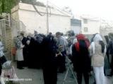 استقبال پر شور از دروایش گنابادی توسط زندانیان در زندان اوین