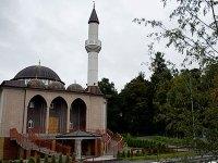 اولین بانگ اذان از منارەی مسجد در سوئد