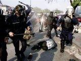حمله یگان ویژه سرکوب به کارگران اعتصابی در معدن مس خاتون آباد