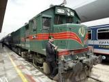 توقف قطار یزد ـ کرمان توسط مردم معترض
