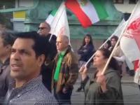 یازدهیمن روز تظاهرات در یوتبوری و استکهلم در پی قتل عام اشرف