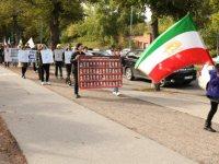 تصویر – بیست و پنجمین روز تظاهرات اعتراضی در استکهلم و یوتبوری در پی قتل عام اشرف