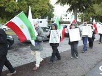 ادامه تظاهرات اعتراضی در پی قتل عام اشرف در شهرهای استکهلم و یوتبوری