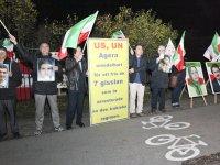 حمایت از ۶۰ روز اعتصاب غذای ساکنین لیبرتی و دیگر کشورها