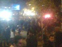 تظاهرات هزاران تن از مردم سقز عليه اعدام زندانيان سياسی