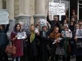 فیلم جدیدی از  ملاقات خانواده ها با زندانیان سیاسی بند 350 اوین و شعار دادن خانوادهها