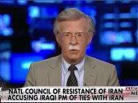 مصاحبه جدید تلویزیون آمریکایی فاکس نیوز با جان بولتن در مورد شورای ملی مقاومت و مریم رجوی و شرایط ایران و عراق