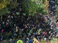 فیلم تظاهرات هزاران نفر از مردم اصفهان در اعتراض به اسید پاشی ها + لینک دانلود