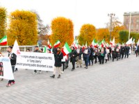 گزارش تصویری از تظاهرات با شکوه یاران مقاومت در مقابل پارلمان و وزارت خارجه سوئد