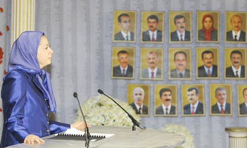 متن سخنرانی خانم مریم رجوی در مراسم بزرگداشت شهدای قتل عام رزمگاه لیبرتی + گزارش تصویری