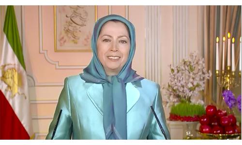 فیلم - پیام نوروزی 1395 خانم مریم رجوی
