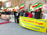 فیلم و گزارش تصویری از آکسیون اعتراضی بر اعدام در ایران – استکهلم ۱ اکتبر ۲۰۱۶