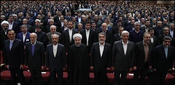 هشدار روحانی در وحشت از سرنگونی رژیم