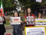 مالمو: آکسیون در حمایت از زندانیان سیاسی در اعتصاب