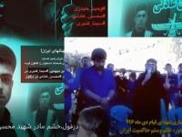 خشم مادر بختیاری شهید قیام، محسن عادلی+ فیلم