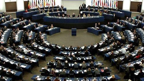 جلسه پارلمان اروپا در مورد قیام ایران