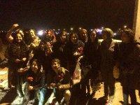 زنان قهرمان دستگیر شده 8 مارس،  امروز از زندان ازاد شدند
