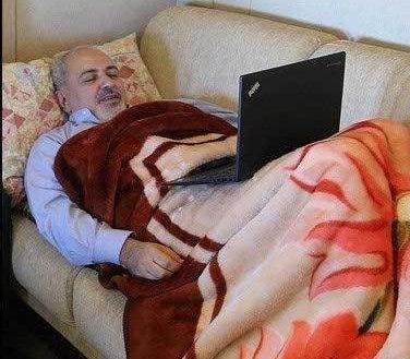 ظریف چپه شده است با وزیر خارجه عمان دیدار نخواهد کرد