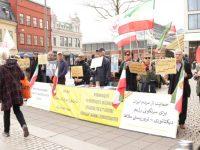 حمایت و همبستگی با قیام مردم ایران در یوتبوری و استکهلم + تصاویر