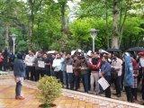 اعتراض دانشجویان تربیت مدرس به مشکلات صنفی