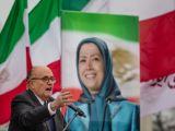 سخنرانی رودی جولیانی در تجمع اعتراضی مجاهدین خلق در ورشو