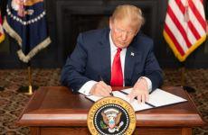 پرزیدنت ترامپ: «باید منتظر ماند و دید که چه پیش میاید»