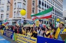 تظاهرات در بروکسل در حمایت از مردم و مقاومت