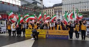 فراخوان به تظاهرات بزرگ در حمایت از قیام کنندگان – استکهلم