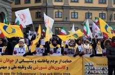گرامیداشت چهلم بیش از ۱۵۰۰ شهید قیام سراسری در استکهلم