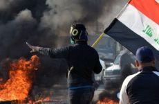 درگیری بین معترضان و پلیس بغداد،۲ نفر کشته شدند