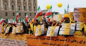 گردهمایی بزرگ به مناسبت سالگرد انقلاب ضد سلطنتی در استکهلم