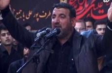 حسن توزی، مداح رژیم، مرد
