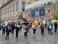اعتراض علیه اعدام نوید افکاری در استکهلم