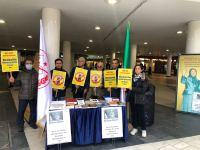استکهلم: برگزاری میز کتاب به مناسبت روز جهانی نه به اعدام
