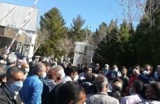 اعتراض سراسری بازنشستگان تامین اجتماعی به وضعیت معیشتی خود