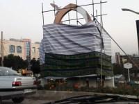 دست کانونهای شورشی یاسوج درد نکند، اتش زدن مجسمه  سلیمانی جنایتکار