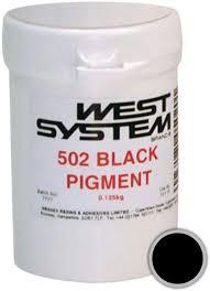 WEST 502 SORT FARVE  125 GR