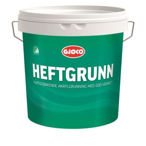 GJØCO HEFTGRUNN VANNBASERT HVIT 2,7L