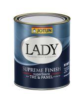 JOTUN LADY SUPREME FINISH 40 0,68L -  HALVBLANK TRE- & PANEL MALING