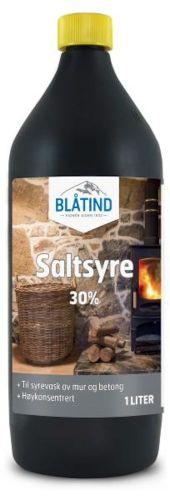 BLÅTIND SALTSYRE 30% 1L