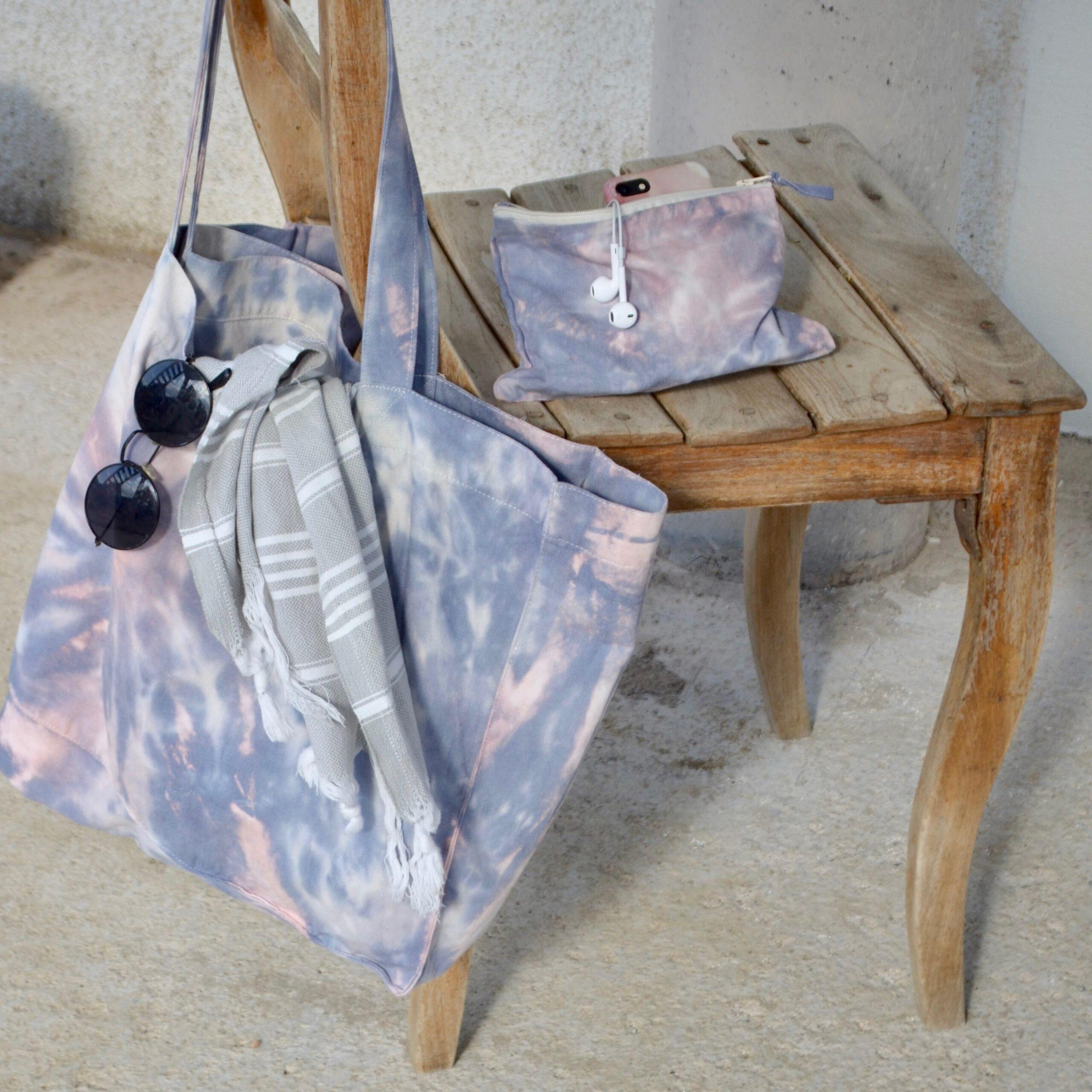 Batik Beach Bag
