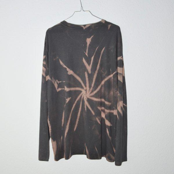 Batik / Tie-Dye Longsleeve Thunder - Handmade, Organic